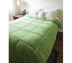 Twin Xl Comforter Measurements College Plush Comforter Avocado Green Twin Xl Extra Plush