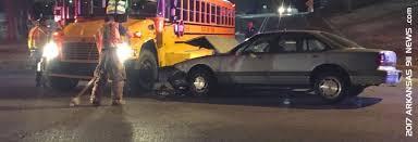 Arkansas Travel News images School bus vs car injury crash malvern ave hot springs jpg