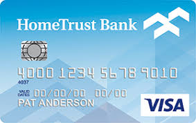 credit cards personal hometrust banking
