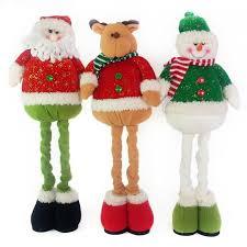 christmas decoration ornament cartoon plush dolls door greeters