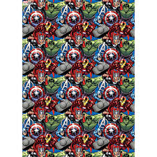 marvel wrapping paper marvel roll wrap 4 metres the entertainer the