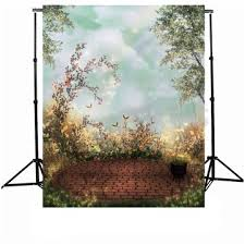 vinyl photography backdrops 5x7ft garden vinyl photography background cloud children photo