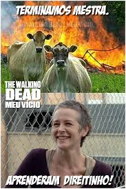Carol Twd Meme - carol twd humor tirinha vacas the walking dead by twdmeuvicio on