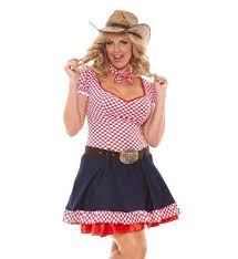 Cowgirl Halloween Costumes Cowgirl Halloween Costume 5x Women Western Dress