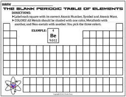 periodic table worksheet pdf worksheet blank periodic table by travis terry tpt