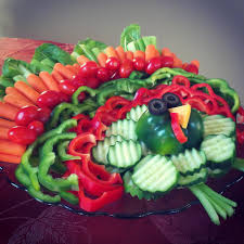 thanksgiving veggies creative vegetable platter ideas make a fun turkey veggie tray
