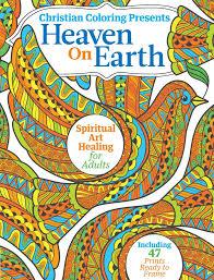 christian coloring heaven on earth u2013 media lab publishing
