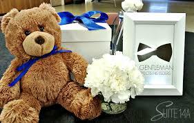Teddy Bear Centerpieces by Black Tie Baby Centerpiece 3 Suit U0026 Tie Baby Shower Pinterest