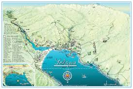 Map Of Jalisco Mexico by Yelapa Map