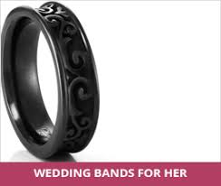 womens titanium wedding bands women s titanium jewelry rings necklaces earrings bracelets