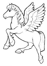 printable coloring pictures unicorns free pages unicorn