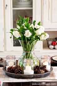 simple christmas table decorations xmas table decoration ideas mariannemitchell me
