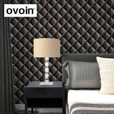 la chambre en direct euopean style faux cuir papier peint mur papier rouleau chambre en