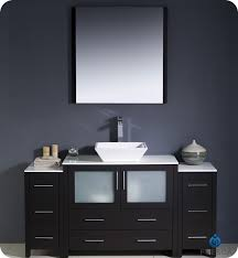 Bathroom Vanity With Side Cabinet Fresca Torino 60