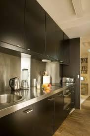 cuisine bois inox crédence cuisine inox idées pour mon futur qg ma cuisine