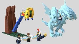 lego ideas yu gi oh duel monsters