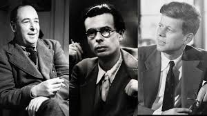 john f kennedy three great men died that day jfk c s lewis and aldous huxley