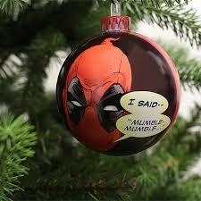Christmas Tree Decoration Packs Uk by Deadpool Bauble Christmas Tree Ornament Pack Numskull