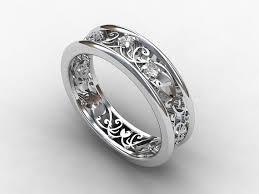 vintage filigree wedding bands wedding rings filigree wedding ring likable deco filigree