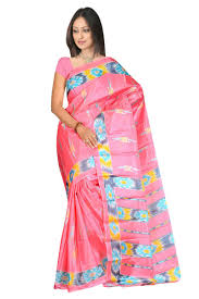 baby pink color silk sarees baby care