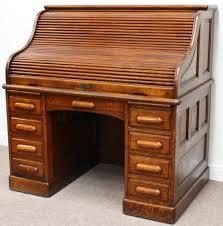 roll top desk tambour antique 1920 s oak roll top desk with tambour shutter home office