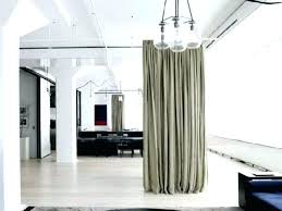 Room Curtains Divider Room Dividers Curtains Room Divider Curtain Rod Amazing Ceiling