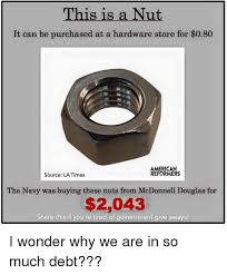 Meme Store - his is a nut it can be purchased at a hardware store for 080