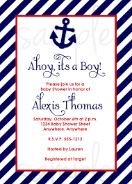 ahoy it u0027s a boy baby shower invitation choose by lovelifeinvites
