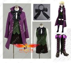 Black Butler Halloween Costumes Black Butler Ii 2 Alois Trancy Anime Cosplay Costume Cloth Shoes