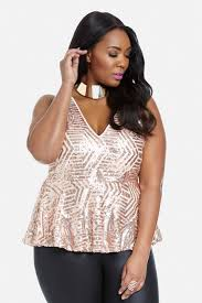 Tory Burch Plus Size Clothing Plus Size Crush On Sequin Top Fashion To Figure