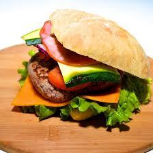 cuisiner un hamburger recette hamburger courgette cheddar et bacon