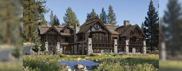 buffalo creek luxury log home design