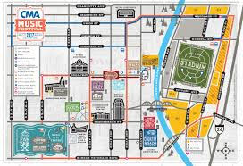Map Of Nashville Tennessee by Maps U0026 More 2017 Cma Music Festival 2017 Cma Music Festival