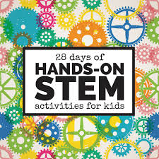 28 days of hands on stem activities for kids left brain craft brain