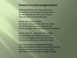 Soapstone Analysis Example Richard Cory By Edwin Arlington Robinson An Analysis With Lesson