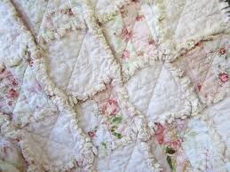 Shabby Chic Baby Bedding For Girls by 136 Best Baby Rag Quilts Images On Pinterest Baby Rag Quilts