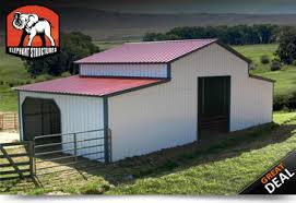 Barn Packages For Sale Metal Barns Metal Barn Kits Metal Buildings Elephant Barns