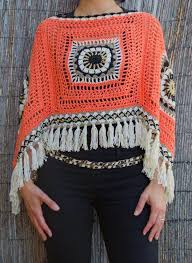 Handmade Poncho - 24 lots of inspiration crochet poncho design diy to make