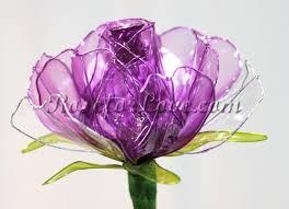Lavender Roses 150 Crystal Like Clear Lavender Roses Everlasting Crystal Like