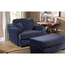 blue chair and a half with ottoman xqnlinfo