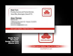 Farm Business Card Business Cards Bliss Spa State Farm U0026 Cc
