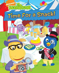 amazon com time for a snack the backyardigans 9781416978282