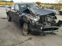 wrecked toyota trucks for sale wrecked 2017 toyota tacoma acc for sale in sc gaston lot 43121306