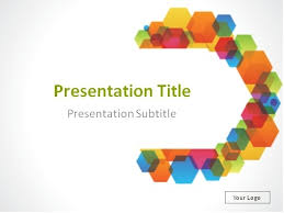 Download Colorful Semicircle Abstract Background Powerpoint Template Powerpoint Theme