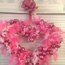 kathryn s wreath wire form pink ornaments walmart after