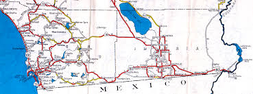 Maps San Diego by U S Highway 80 In California At Americanroads Us