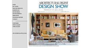 Home Design Trade Show Nyc Architectural Digest Design Show Builder And Developer Magazine
