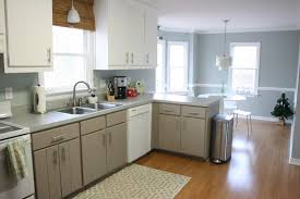 Gray Painted Kitchen Cabinets Gray Wall Paint Kitchen