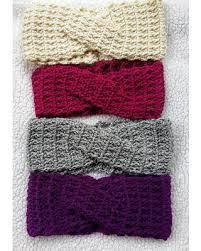 crochet hairband amazing deal crochet twisted ear warmer crochet turban crochet