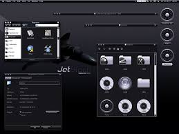 jetblack windows blind for xp themes for pc